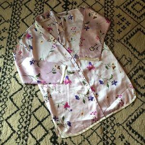 Vintage Victoria's Secret l Satin Sleep Shirt